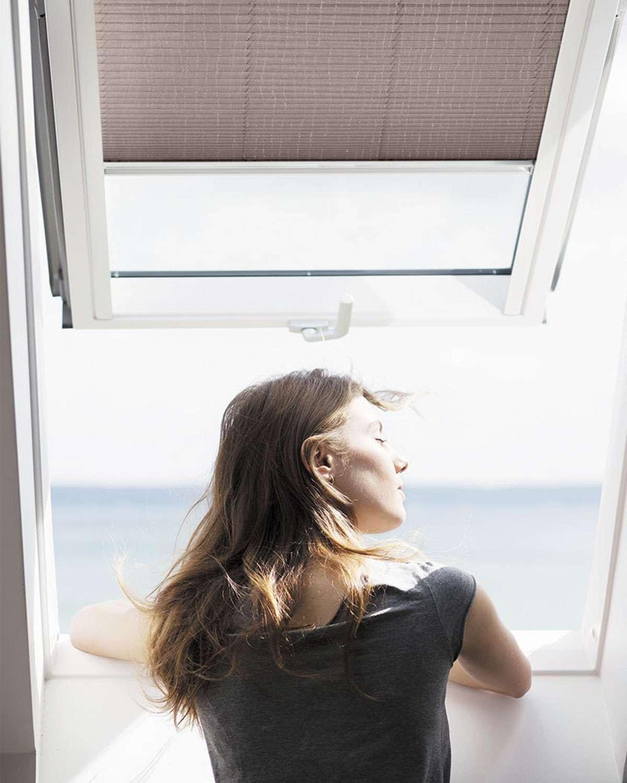 ventana-de-tejado-cortina-plisada