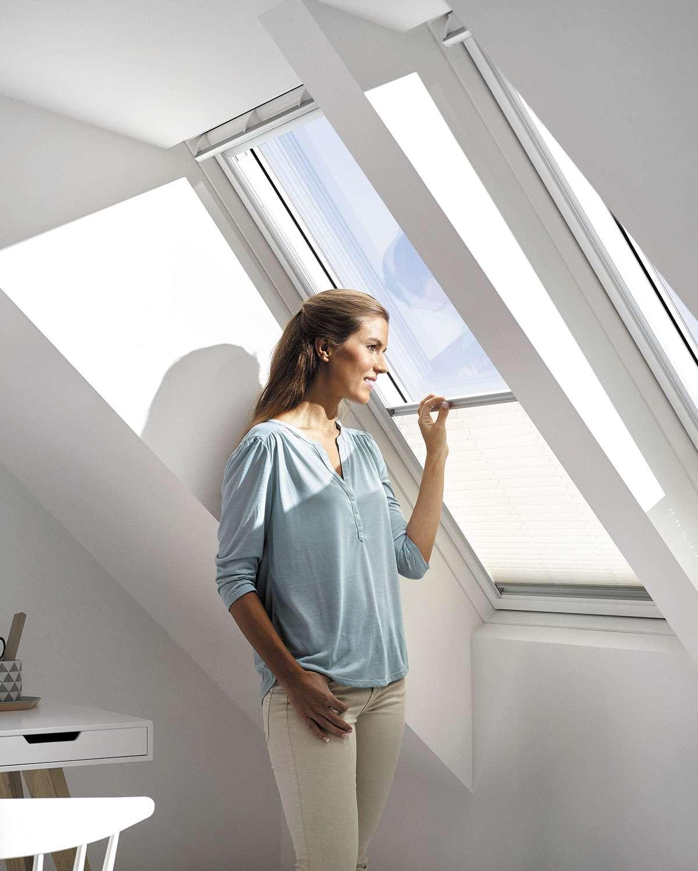 ventana-tejado-cortina-plisada