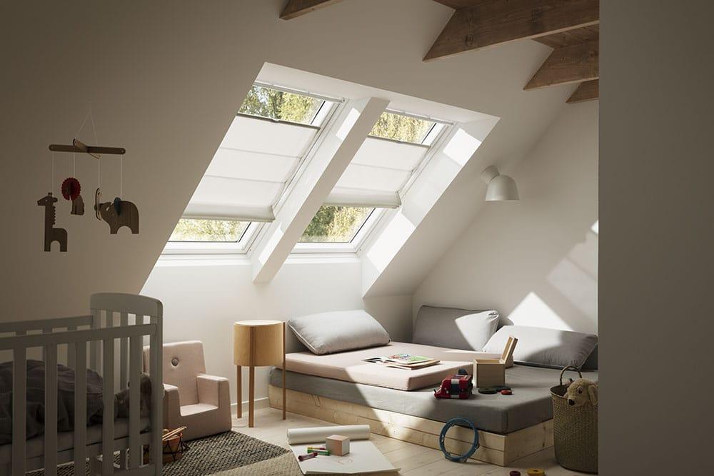 Cortina plegable de tejado